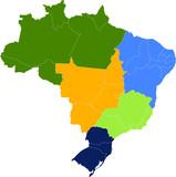 Brasil: Regiões e Estados