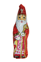 Schokoladenfigur Hl. Nikolaus