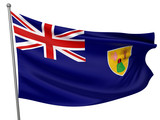Turks and Caicos Islands National Flag poster