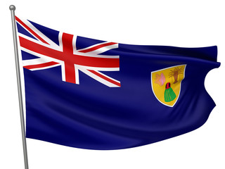 Turks and Caicos Islands National Flag
