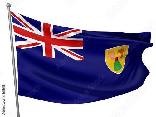 Turks and Caicos Islands National Flag