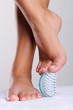 Spa treatment for female feet