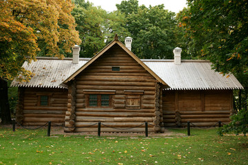 The old rural house in Russia
