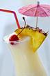Pina colada cocktail