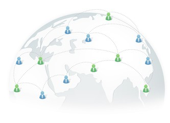 Business Network around the world