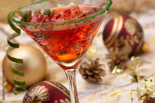 Christmas cocktail - 18618864