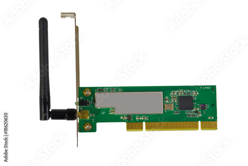 Network Card on Wireless Network Adapter Pci Computer Card    Skaljac  18620630   See