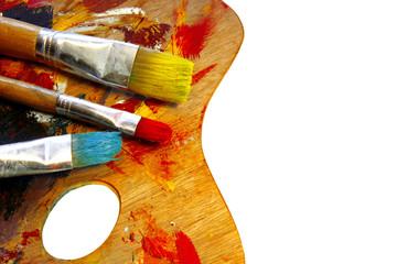 Artists color palette