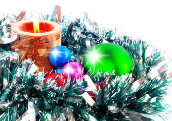Christmas and and New Year decoration.