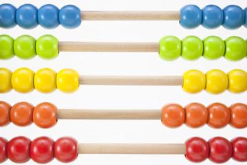 Abacus Beads Horizontal