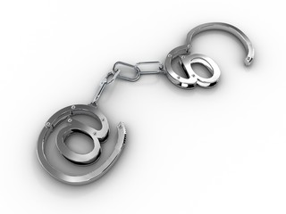 "Handcuffs with ""at"""