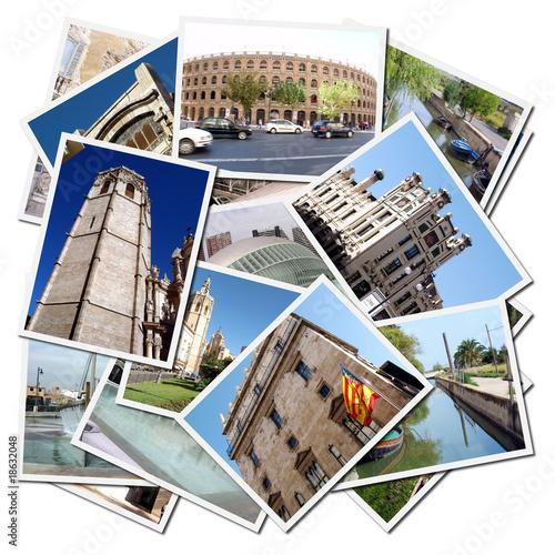 Fotomural postales de la ciudad de valencia en espa a ref - Vinilos decorativos en valencia ...