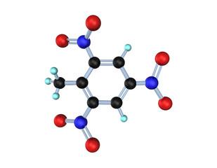Molecule TNT 3D