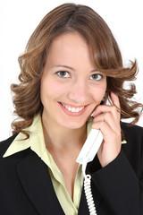 Portrait telefonieren