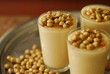 roasted chick peas and thick -boza