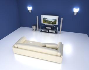 Entertainment room.