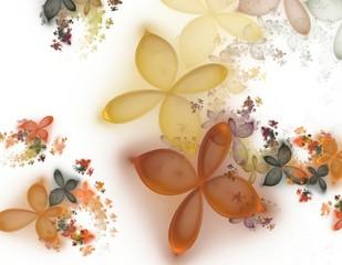 Herbstlaub abstrakt