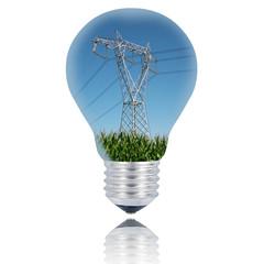 lampadina alta tensione