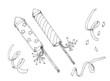 Sylvester, Silvester, Raketen, Feuerwerk, new year