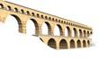 Aquäduktbrücke Pont du Gard