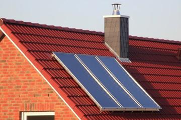 solar heating system Thermosiphonanlage warmwasserbereitung
