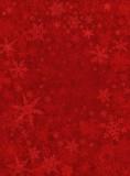 Sottile Sfondo rosso neve