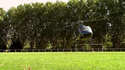 Atterrissage Hélicoptère