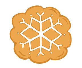 Shortbread snowflake