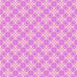 Seamless vector pink lace ornament wallpaper