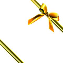 Goldene Geschenkverpackung