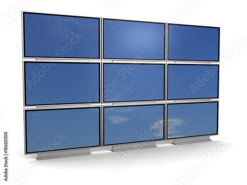 ściana tv