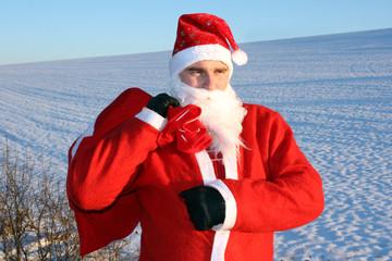 Santa am Nordpol