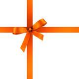 Geschenkband und Schleife aus Satin