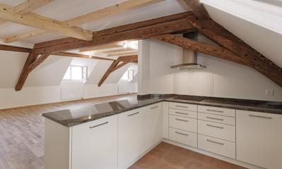 Moderne Küche in Landhaus