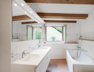 Badezimmer in Landhaus