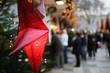 Leinwandbild Motiv weihnachtsmarkt