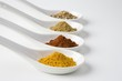 Turmeric, chilli, cumin and chinese 5 spice