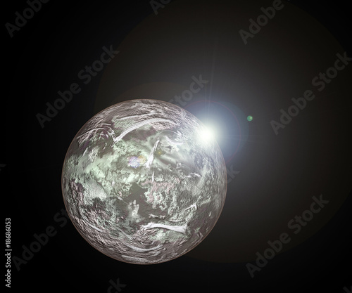 planet background