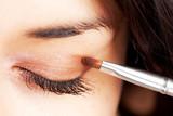 beautiful make up eyeshadow. poster