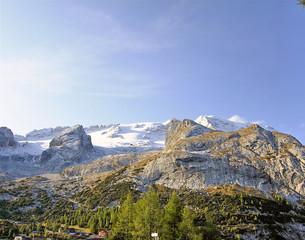 Italy, Dolomite, Marmolada  mountains