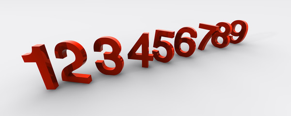 Zahlen 3D