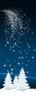 Winter Landscape Banner Ad - Falling Star