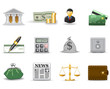 Finance and banking icons. Part 1