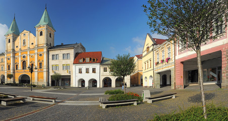 Marianske Square in Zilina
