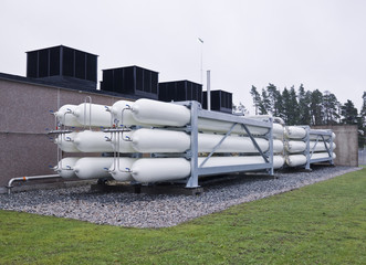 Natural gas containers