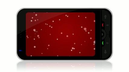 Smartphone Natalizio