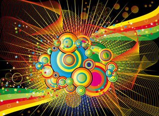 Abstract fun background