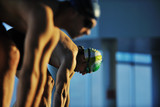 Fototapety swimming start