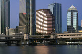 Buildings in Downtown Tampa poster
