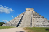 Maya pyramid in Mexico